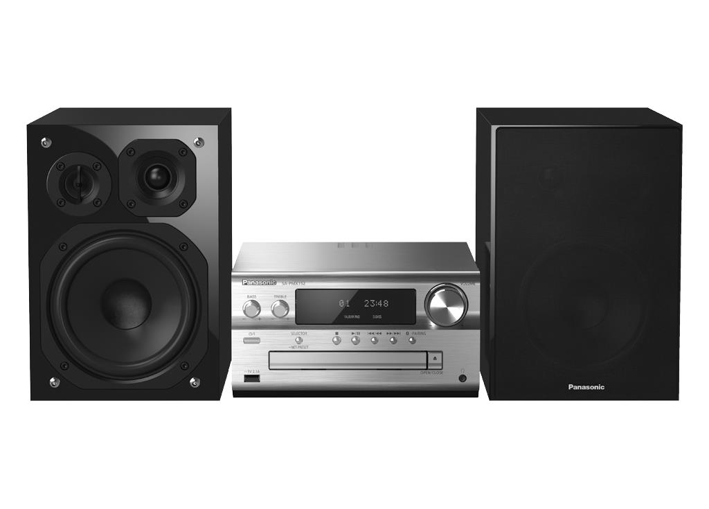 Fabriksnye Panasonic SC-PMX152EGS All Multirum kompakt hi-fi anlæg | Lyd & Billed OC-47