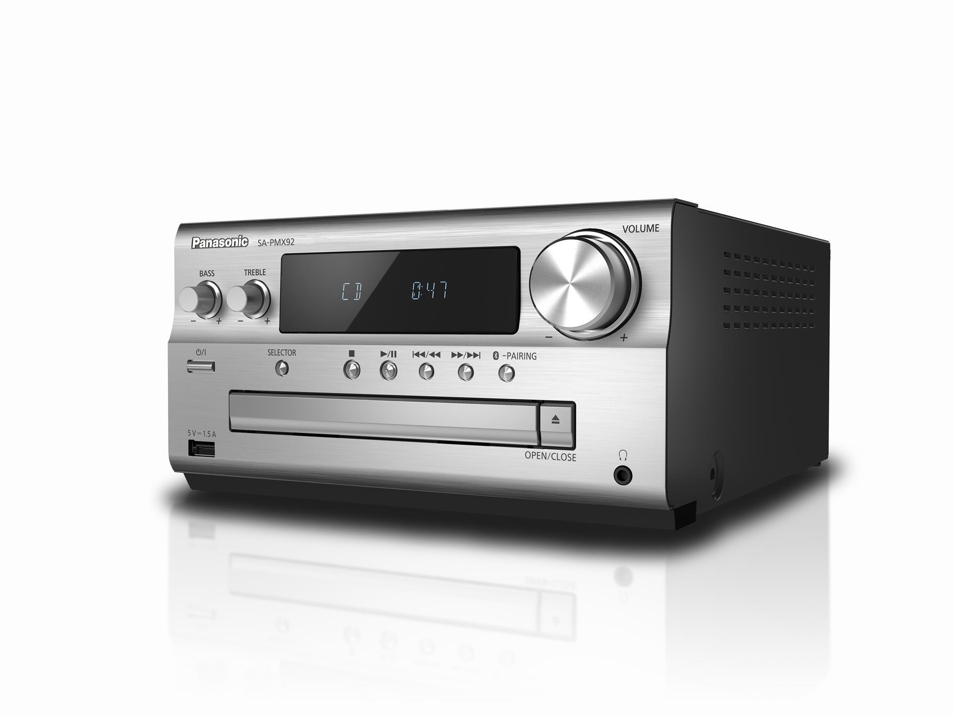 Flot Panasonic SC-PMX82EG-K minianlæg kompakt hi-fi, DAB+ | Lyd & Billed CI-78